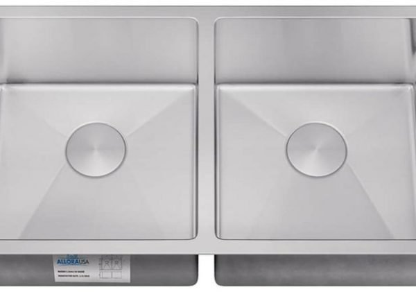 KH-3318 – ALLORA PRO SERIES – Undermount Double Bowl