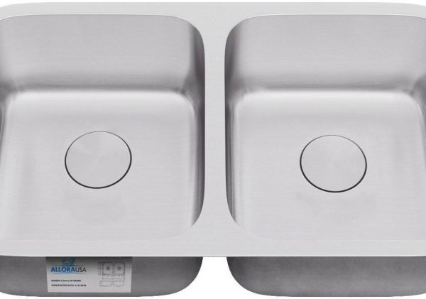 KSN-3118-ALLORA SERIES – Undermount Double Bowl