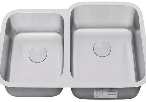 KSN-3221-R-ALLORA SERIES – Undermount Double Bowl Kitchen Sink