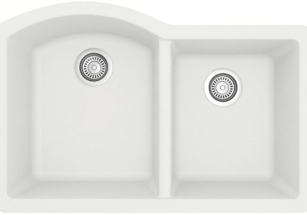 QU-610-WH Quartz Kitchen Sink - White