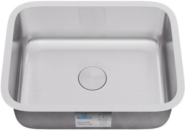 KSN-2318 – ALLORA SERIES – Single Bowl Undermount Sink
