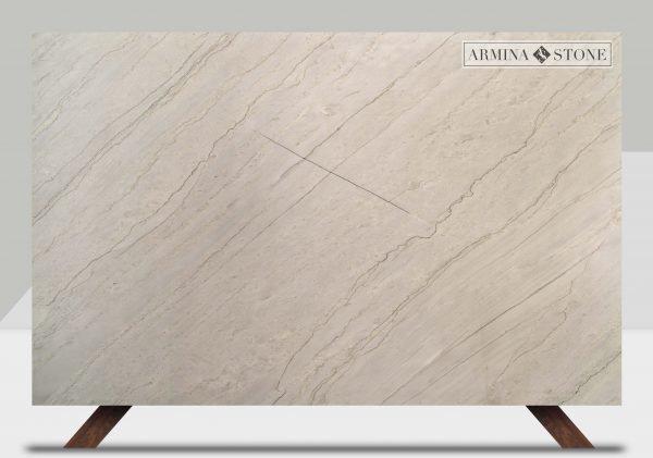 White Diamantia Leather